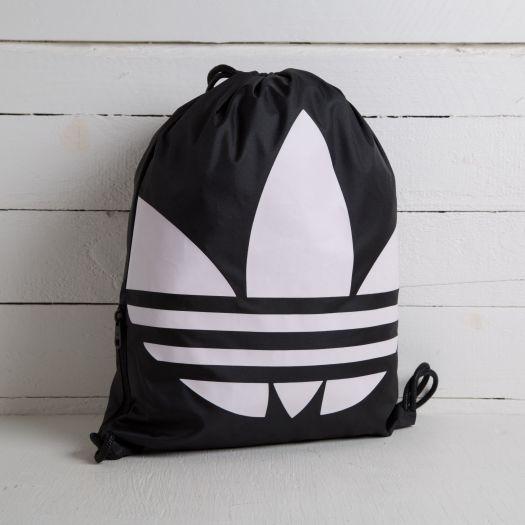 adidas Gymsack Trefoil Black/ White | Footshop