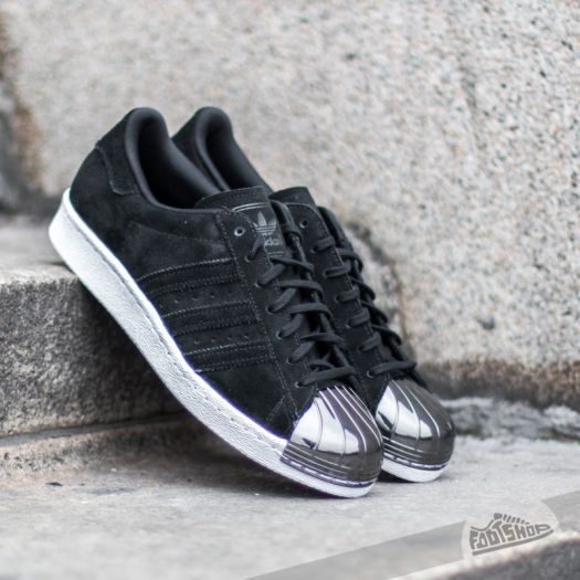 new style c434f 0bc15 adidas Superstar 80s Metal Toe W Core Black/ Core Black ...