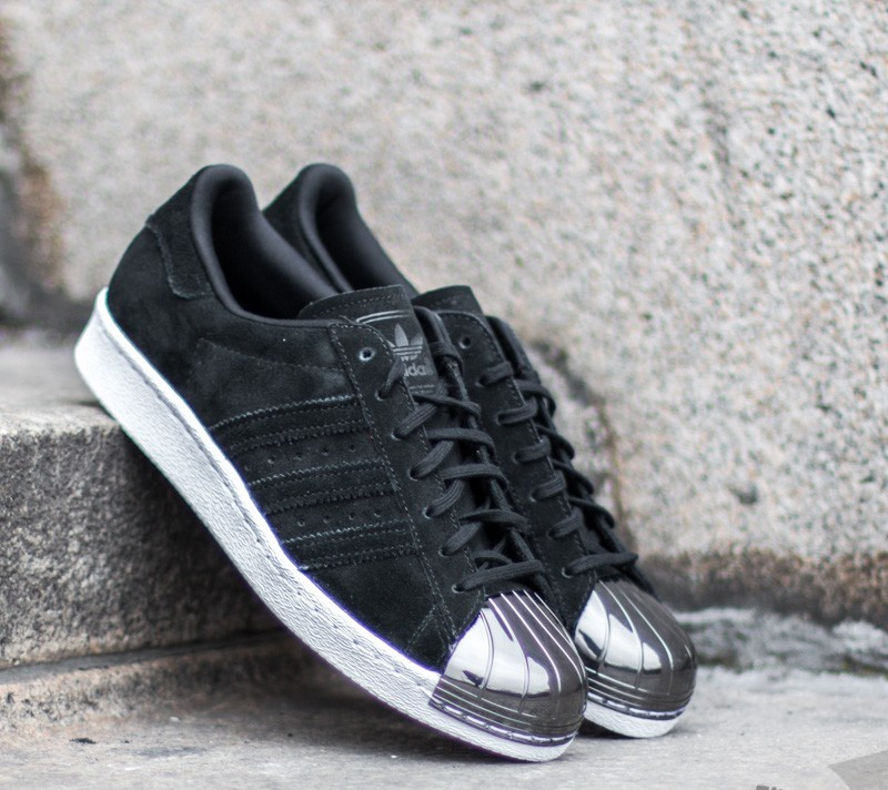 adidas Superstar 80s Metal Toe W Core Black  Core Black  Ftw White ... 61cfe98079