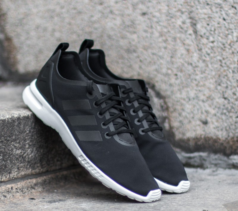 best website dec87 81131 adidas ZX Flux Smooth W Core Black  Core Black