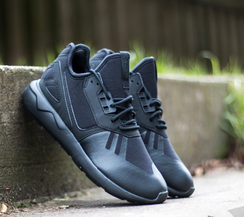 the latest 65921 4806b adidas Tubular Runner K Core Black  Core Black  Core Black