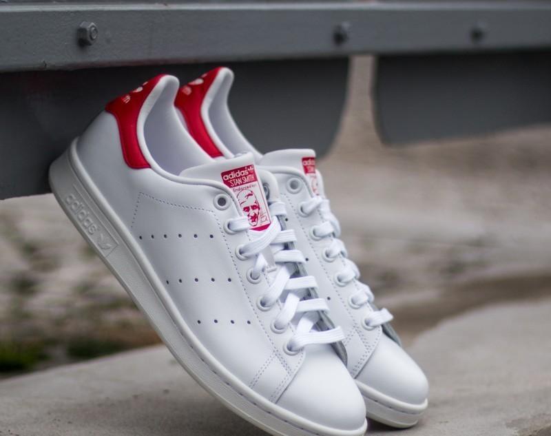 adidas Stan Smith Running White/ Running White/ Red EUR 46 2/3