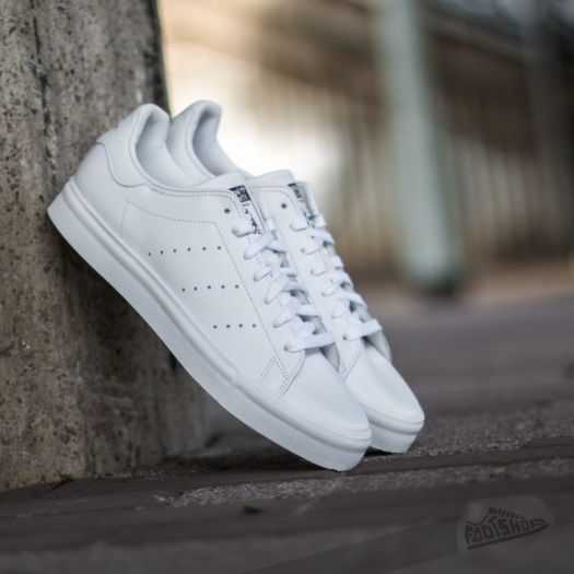 best website b80bc 93f4e adidas Stan Smith Vulc Ftwwht/Ftwwht/Core Black | Footshop