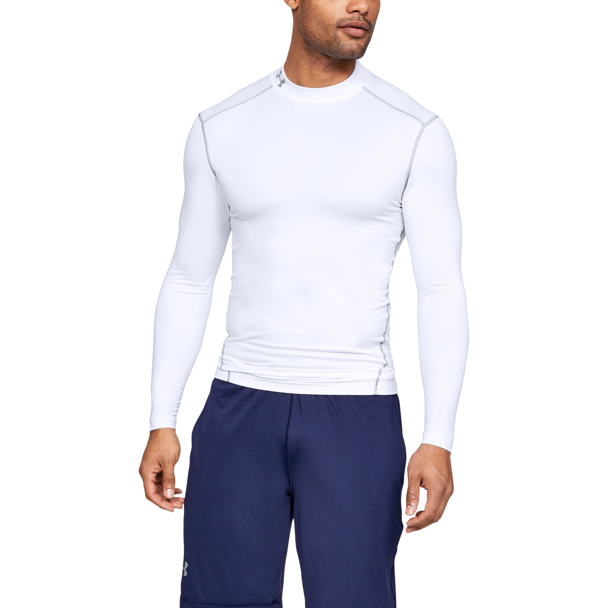 T-shirts Under Armour CG Armour Mock White