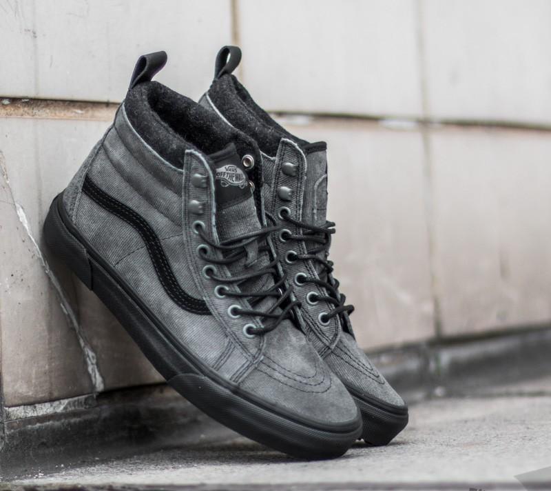 shoes Vans Sk8-Hi (MTE) Denim Suede/ Black