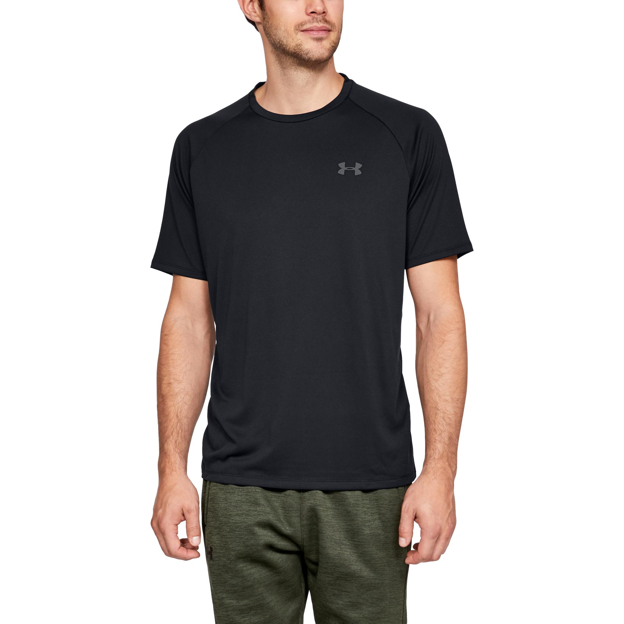 T-shirts Under Armour Tech SS Tee 2.0 Black