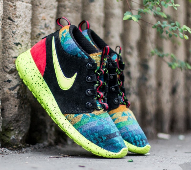 finest selection c1a65 627fb Nike Roshe One Mid Winter Pendleton (GS)