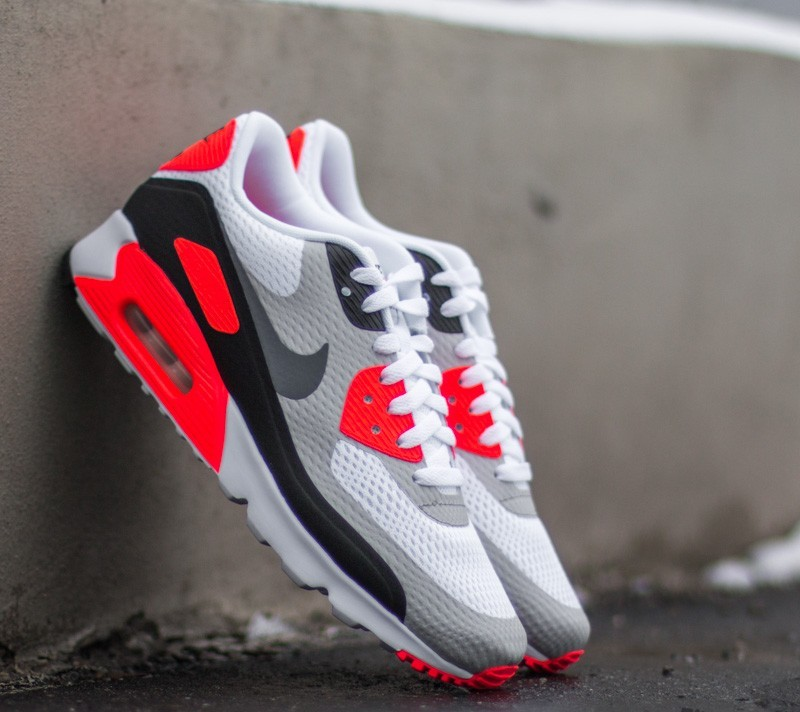Nike Air Max 90 Ultra Essential Og Pack White Cool Grey Infrared