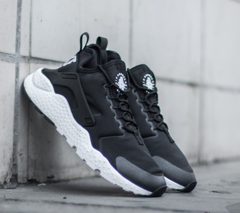 8abcdc73d125 Nike Wmns Air Huarache Run Ultra Black  White   Footshop