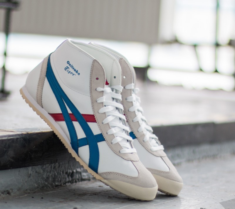 cbfd8be96df Onitsuka Tiger Mexico Mid Runner White  Daphne