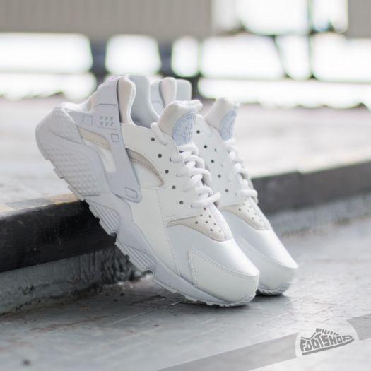 nowy autentyczny ekskluzywne buty jakość wykonania Nike Wmns Air Huarache Run White/ White | Footshop