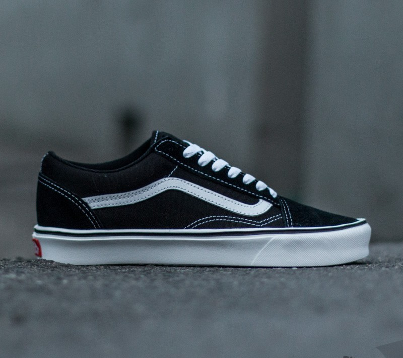 Vans Old Skool Lite+ (SuedeCanvas) BlackWhite | Footshop