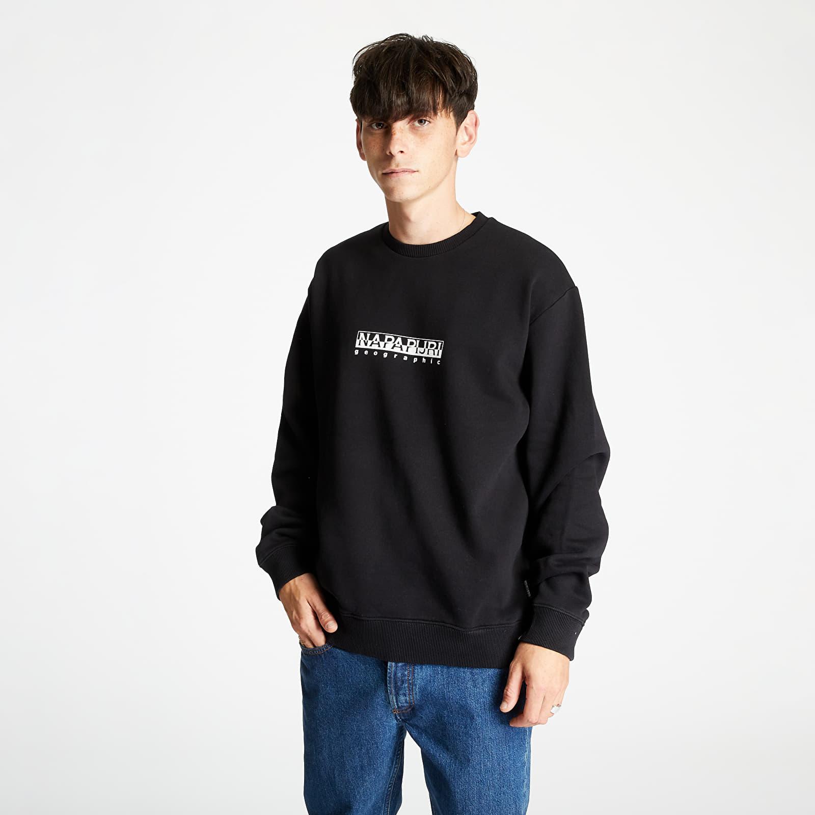 Mikiny a svetry NAPAPIJRI Box Sweatshirt Black
