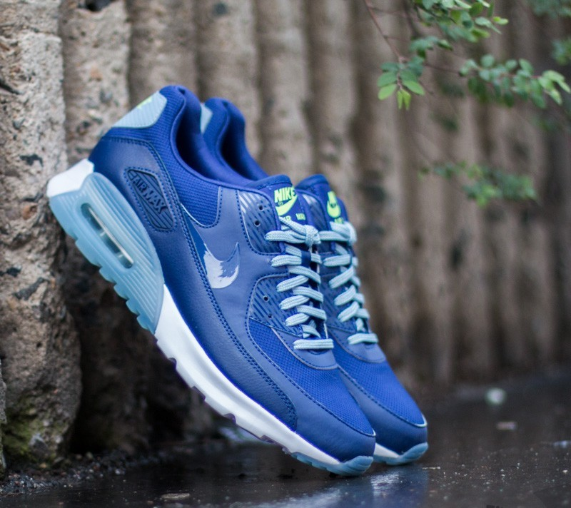 nike air max 90 ultra essential blau