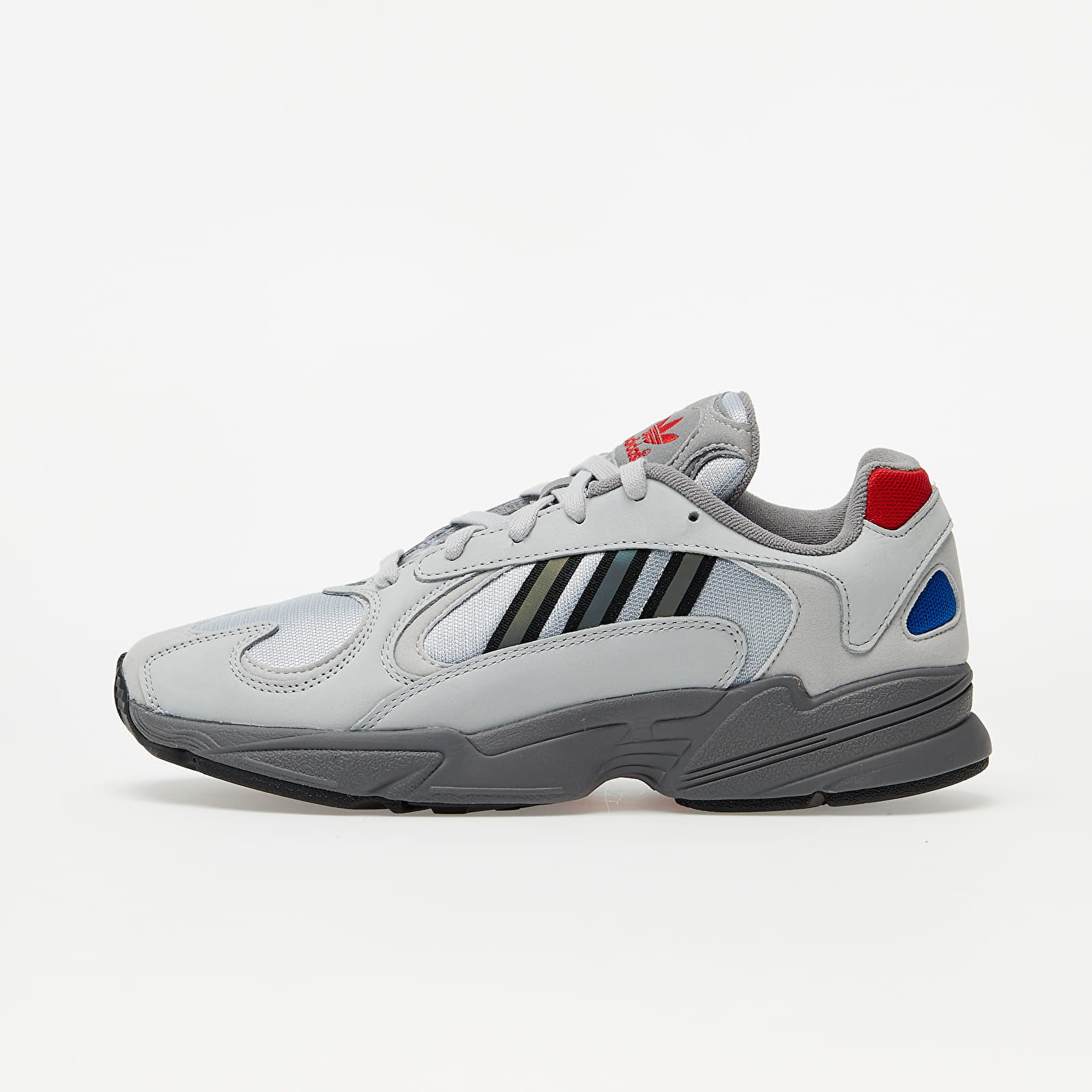 Männer adidas Yung-1 Silver Metalic/ Night Metalic/ Grey Two