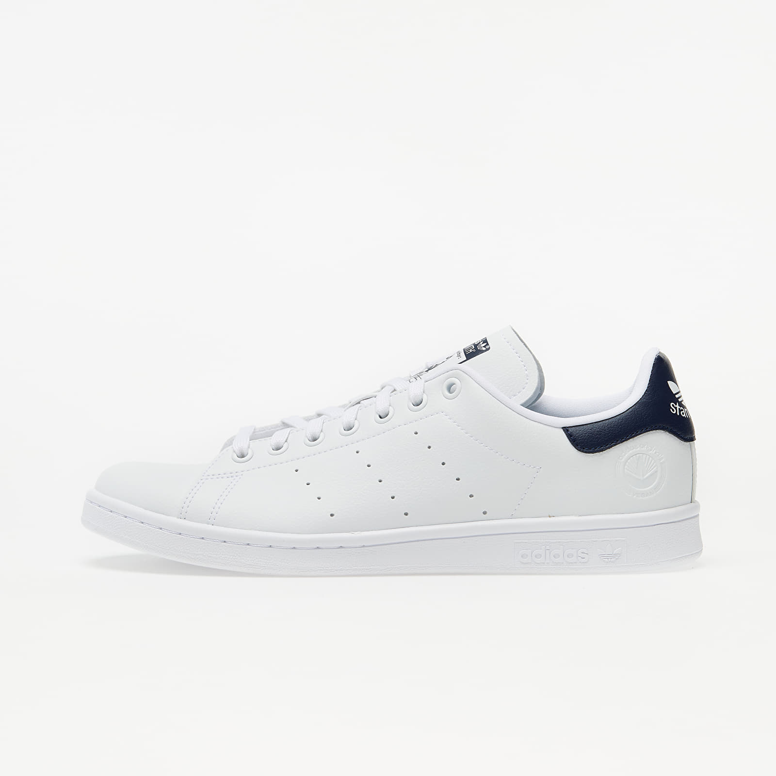 Мъжки кецове и обувки adidas Stan Smith Vegan Ftw White/ Collegiate Navy/ Green