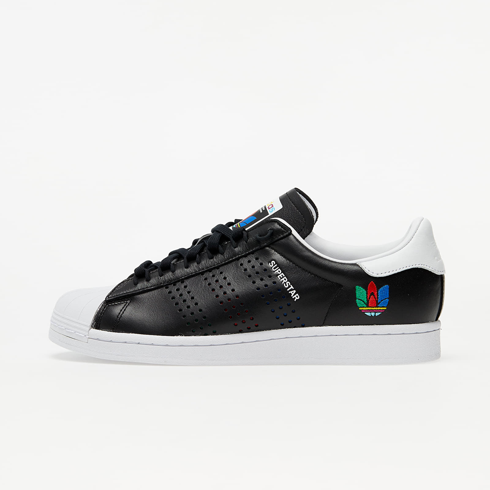 adidas Superstar Core Black/ Green/ Ftw White EUR 43 1/3