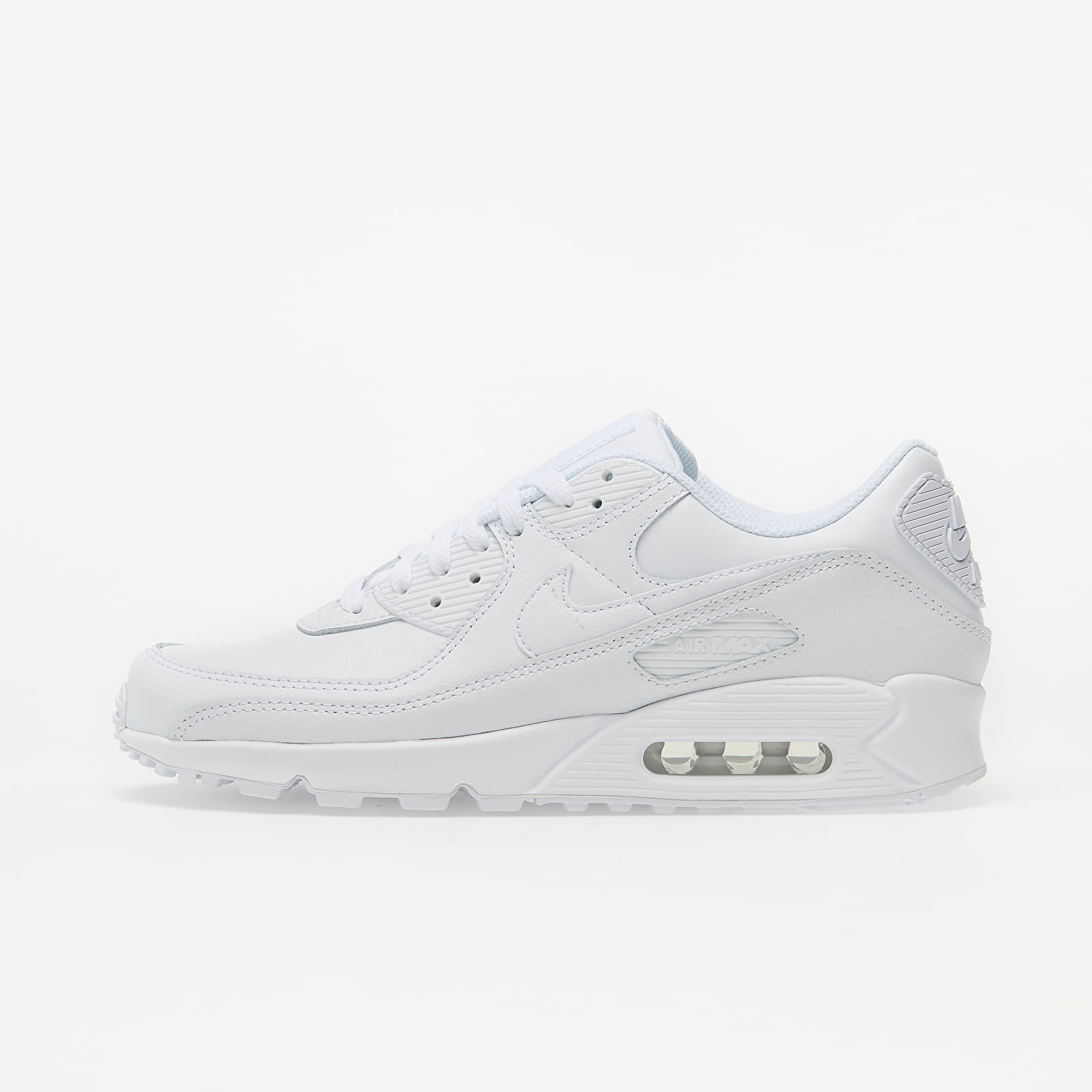 Men's shoes Nike Air Max 90 Leather White/ White-White