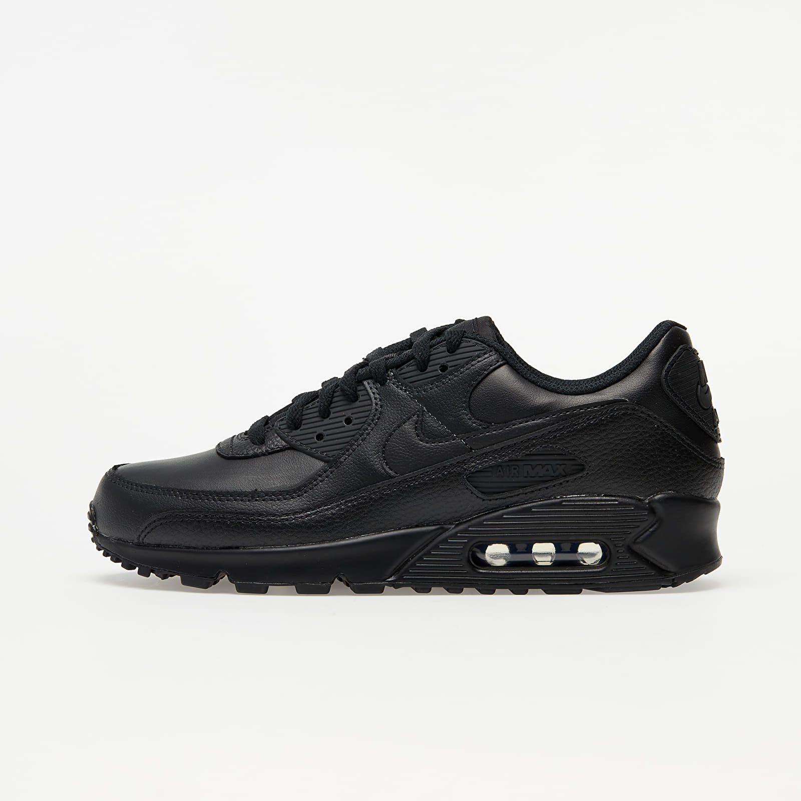 Nike Air Max 90 Leather Black/ Black-Black EUR 40.5