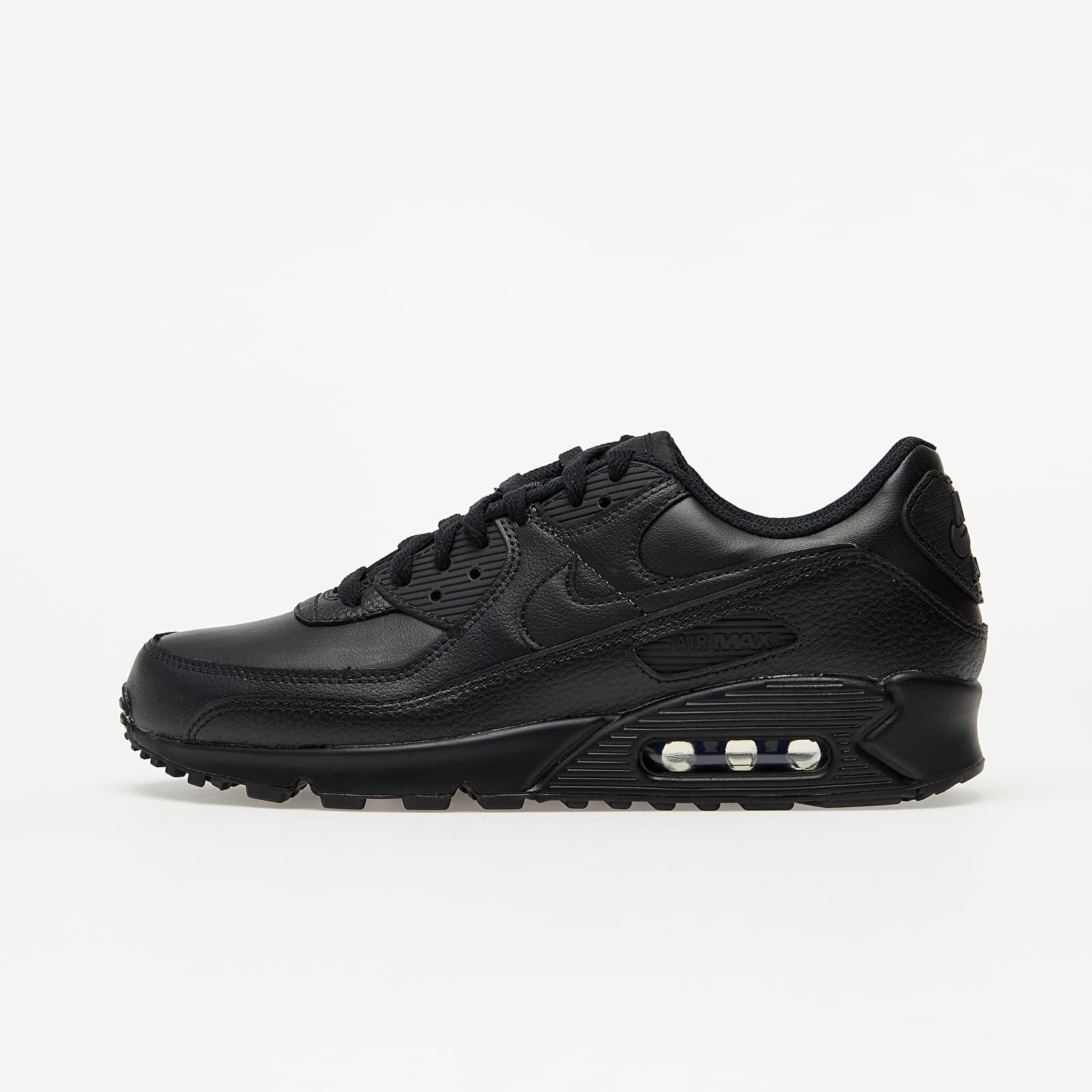 Chaussures et baskets homme Nike Air Max 90 Leather Black/ Black-Black