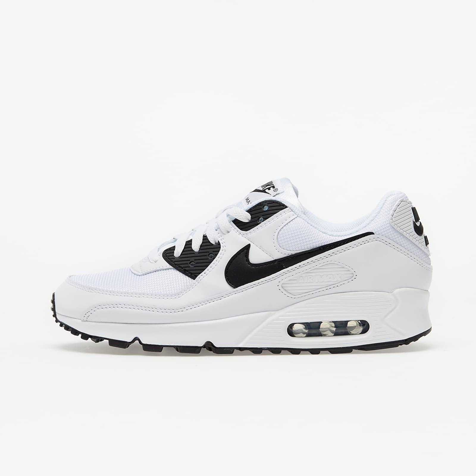 Nike Air Max 90 White/ Black-White | Footshop