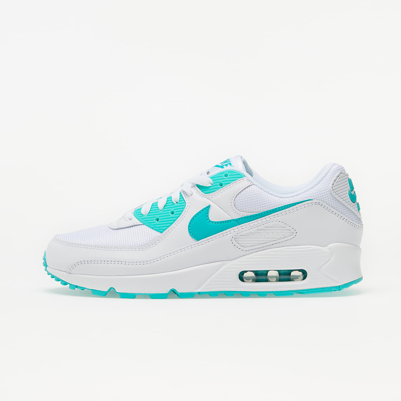Nike Air Max 90 White/ Hyper Jade-Black EUR 45