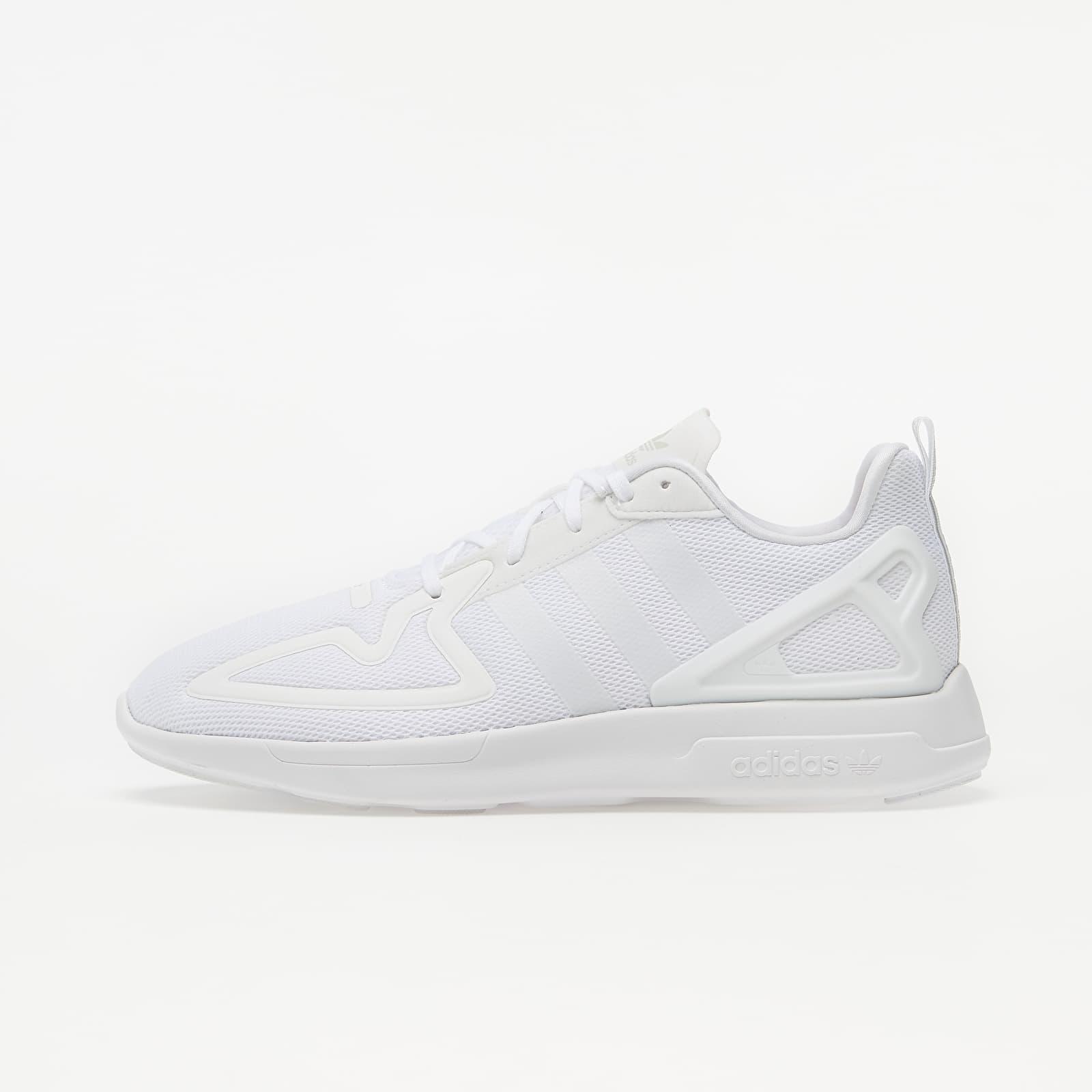 adidas ZX 2K Flux Ftw White/ Ftw White/ Grey One EUR 37 1/3