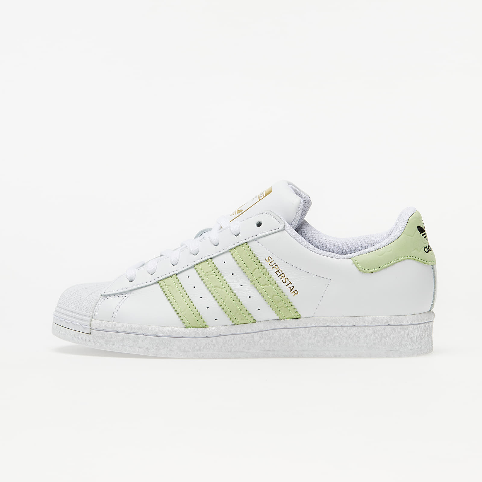 Dámske topánky a tenisky adidas Superstar W Ftw White/ Hi-Res Yellow/ Gold Metalic
