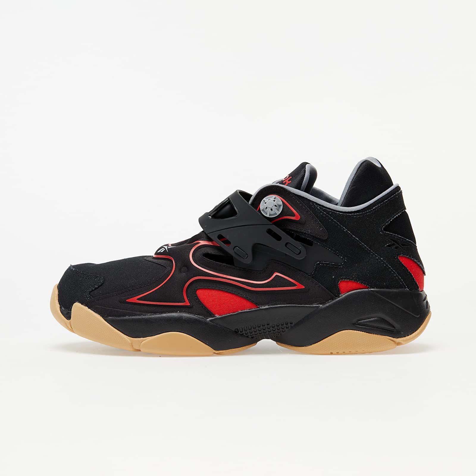 Reebok Pump Court Black/ Insane Red/ Rbkg02 EUR 42.5