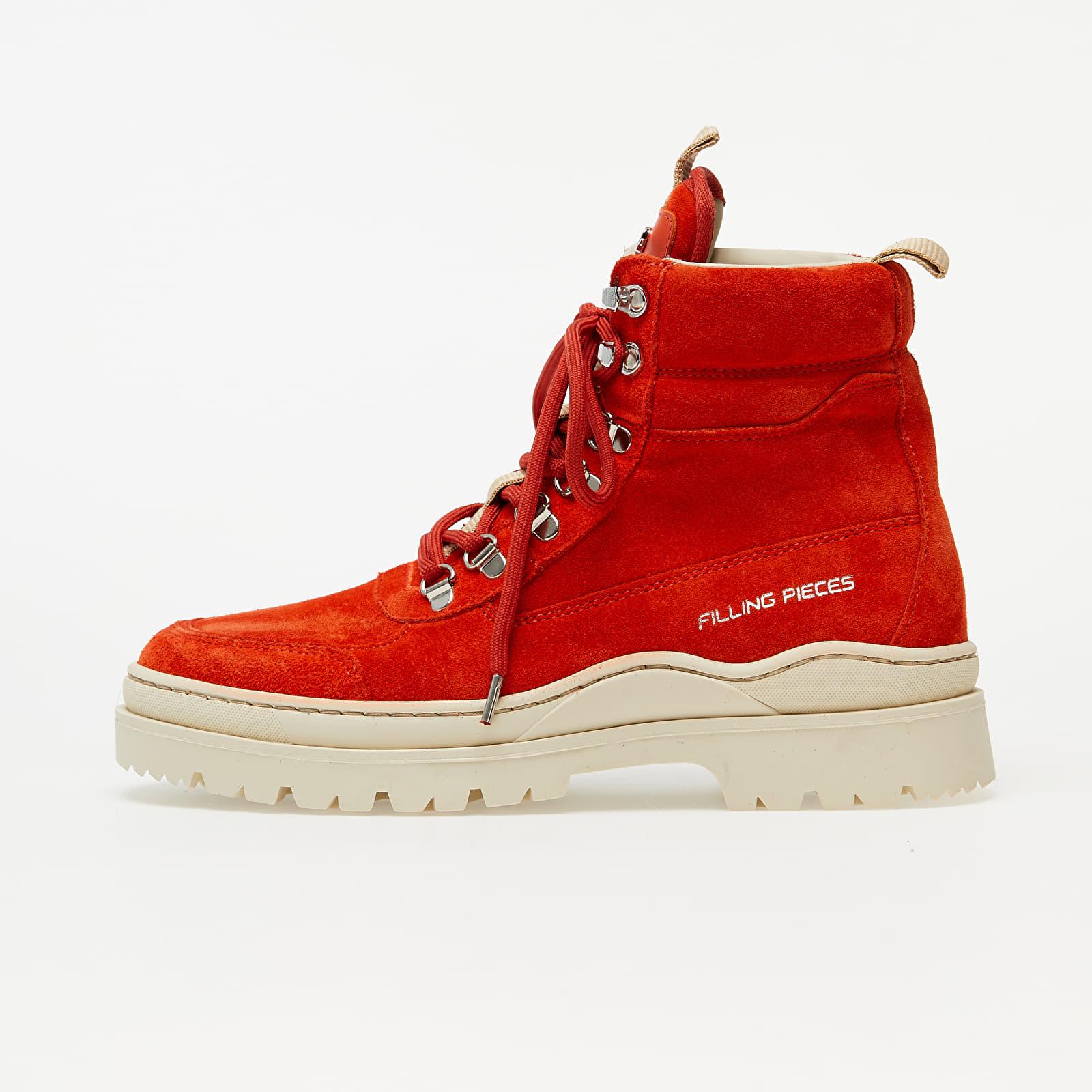 Scarpe e sneaker da uomo Filling Pieces Mountain Boot Rock Orange