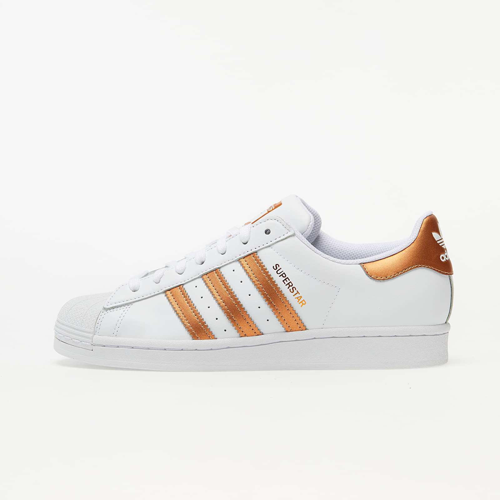 Női cipők adidas Superstar W Ftw White/ Copper Metalic/ Core Black