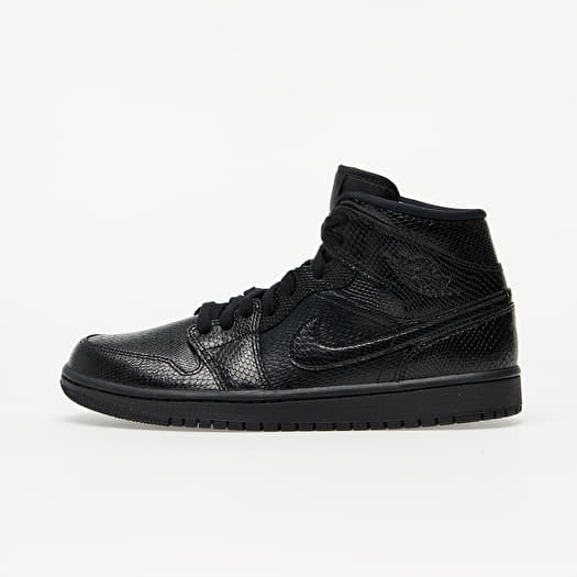 Air Jordan 1 Mid WBlack Black White