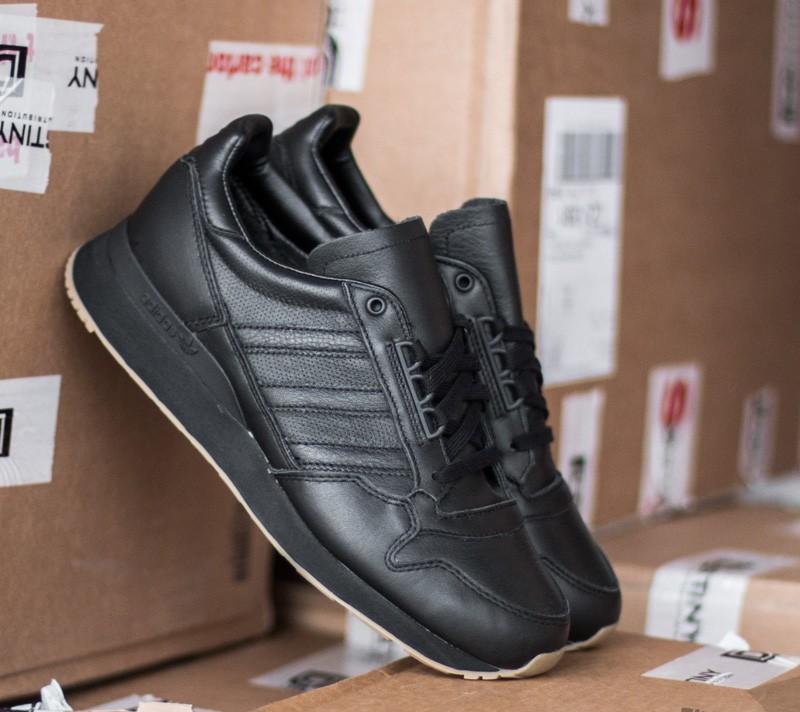 última selección de 2019 nueva estilos garantía de alta calidad adidas zx 500 black leather off 58% - www.skolanlar.nu