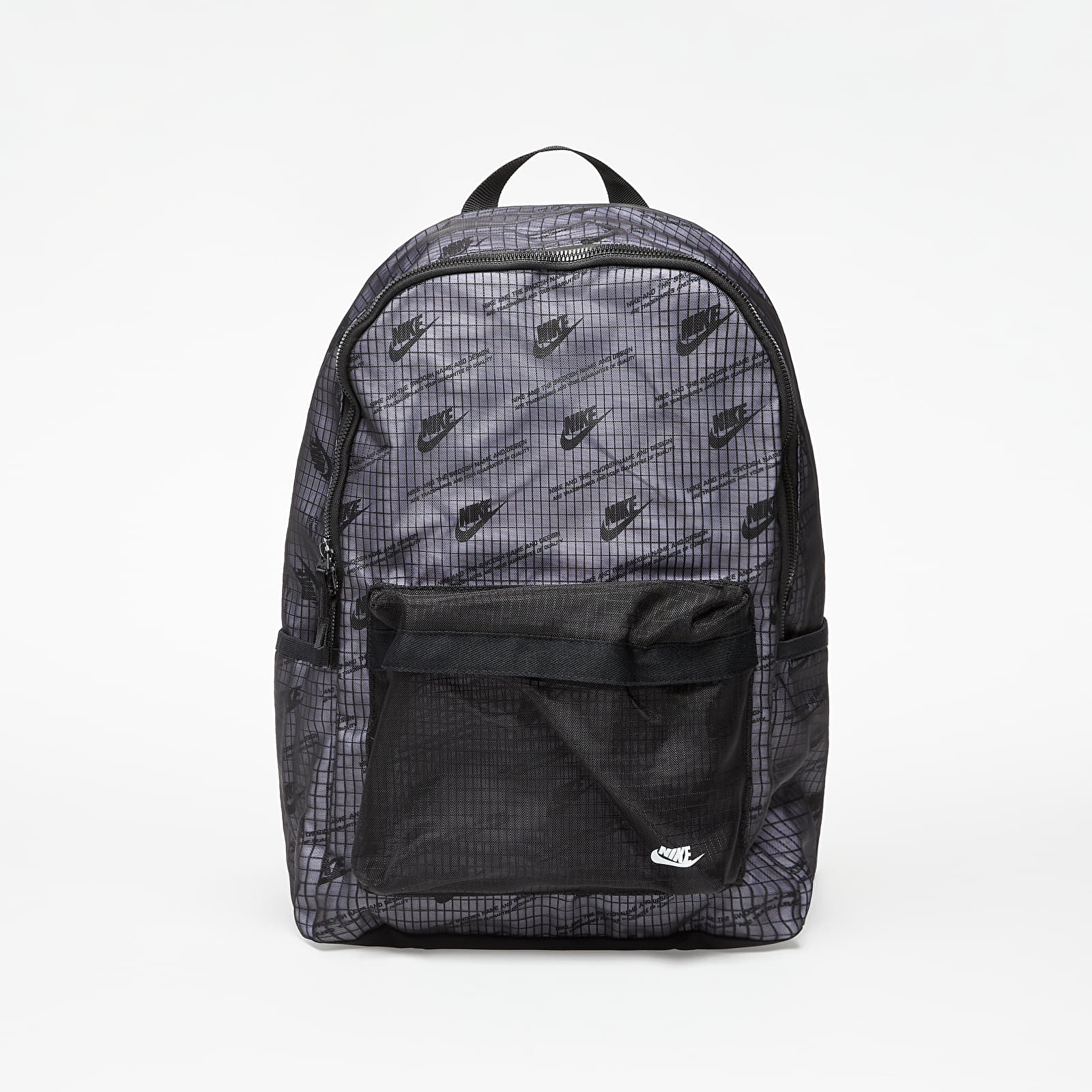 Batohy Nike Heritage 2.0 Backpack Black/ Black/ White