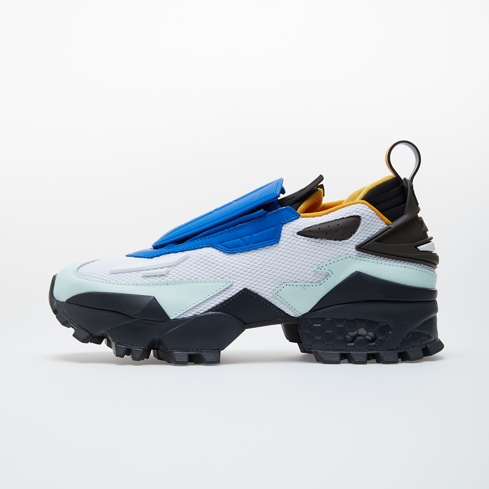 Zapatillas Hombre Reebok Pyer Moss Trail Fury White/ Buffalo Blue/ Trk Gold