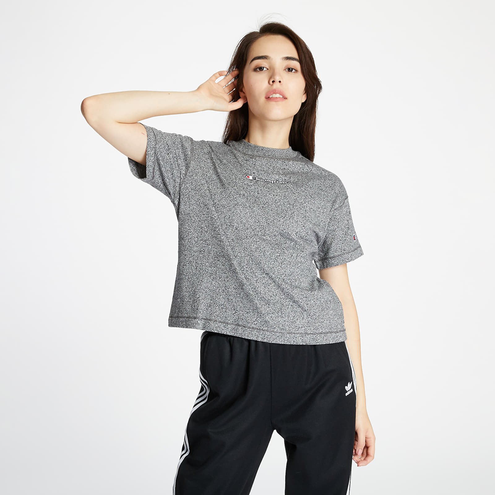 T-shirts Champion Cropped Tee Grey