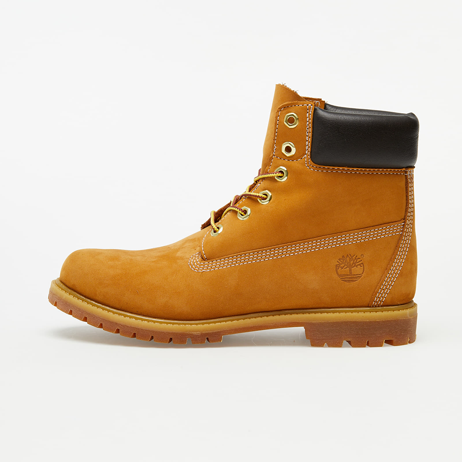 Chaussures et baskets femme Timberland Premium 6 In Waterproof Boot Wheat Nubuck