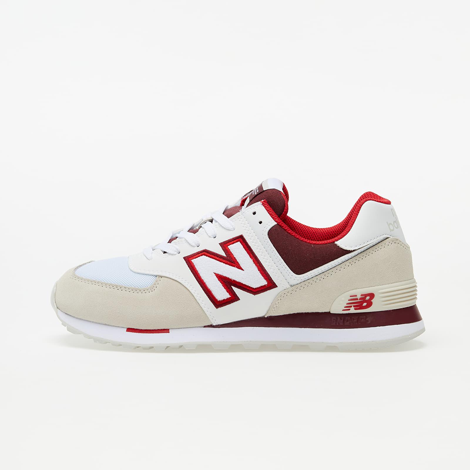 New Balance 574 Beige/ White/ Red EUR 45