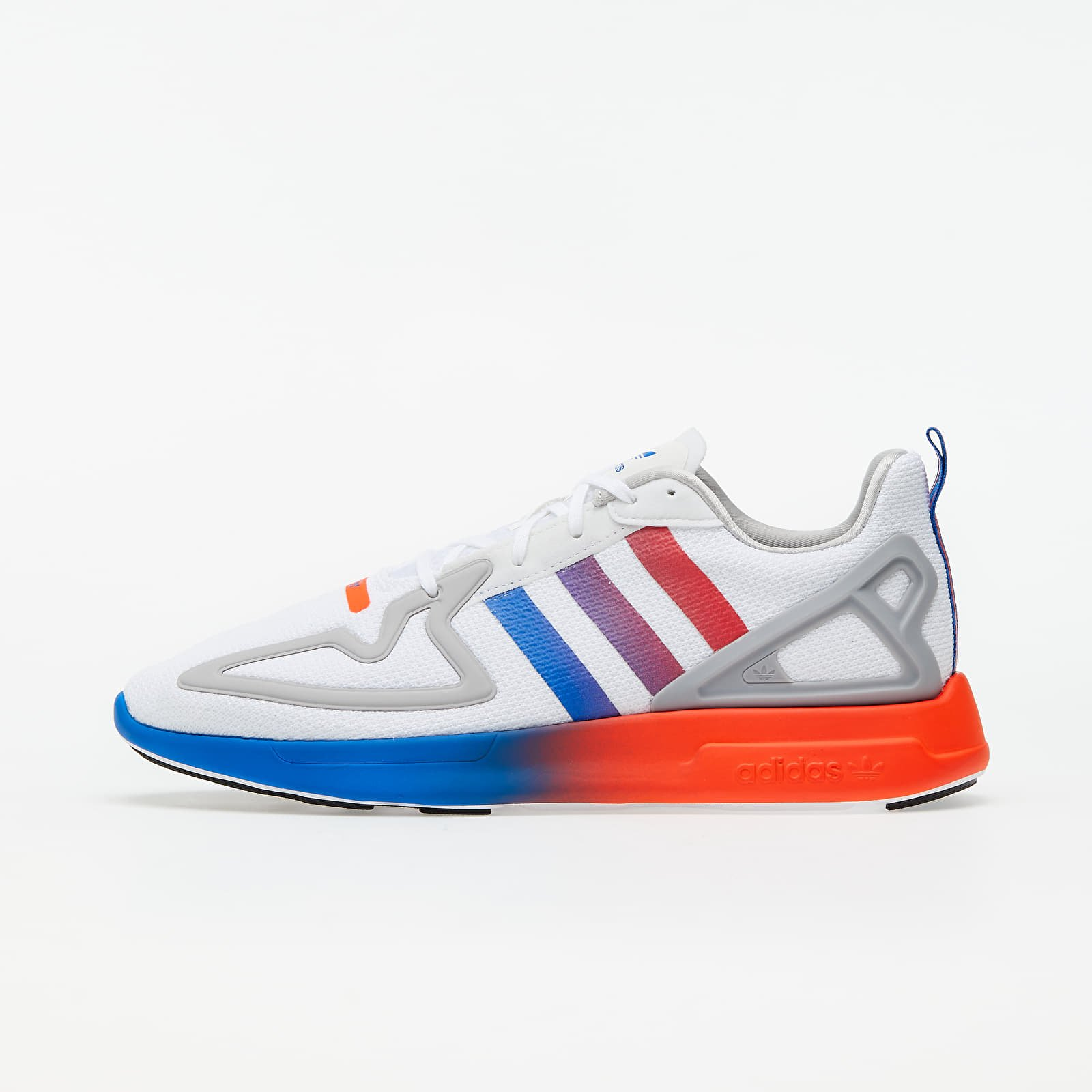 adidas ZX 2K Flux Ftw White/ Core Black/ Blue EUR 37 1/3