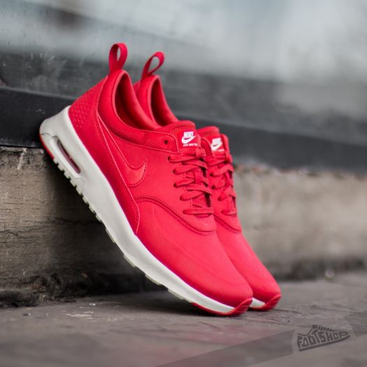 Wmns Nike Air Max Thea Premium University Red Univeristy
