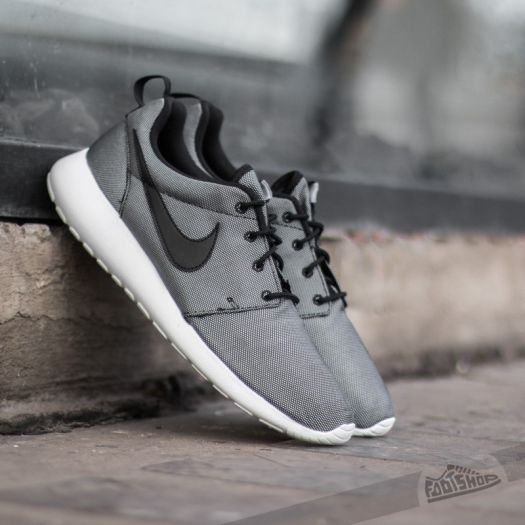 sports shoes 54d6f 12860 Nike Roshe One Premium Black/ White- Wolf Grey | Footshop