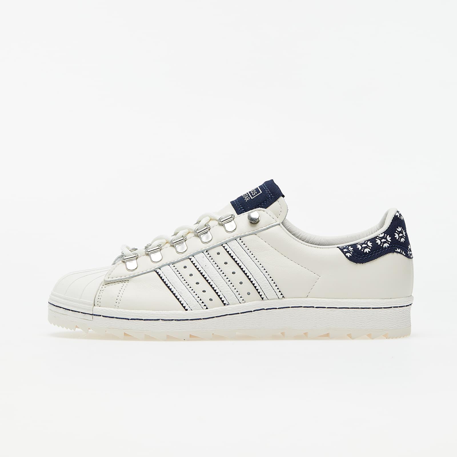 Chaussures et baskets homme Footshop x adidas Superstar Blueprinting Core White/ Night Indigo/ Night Indigo