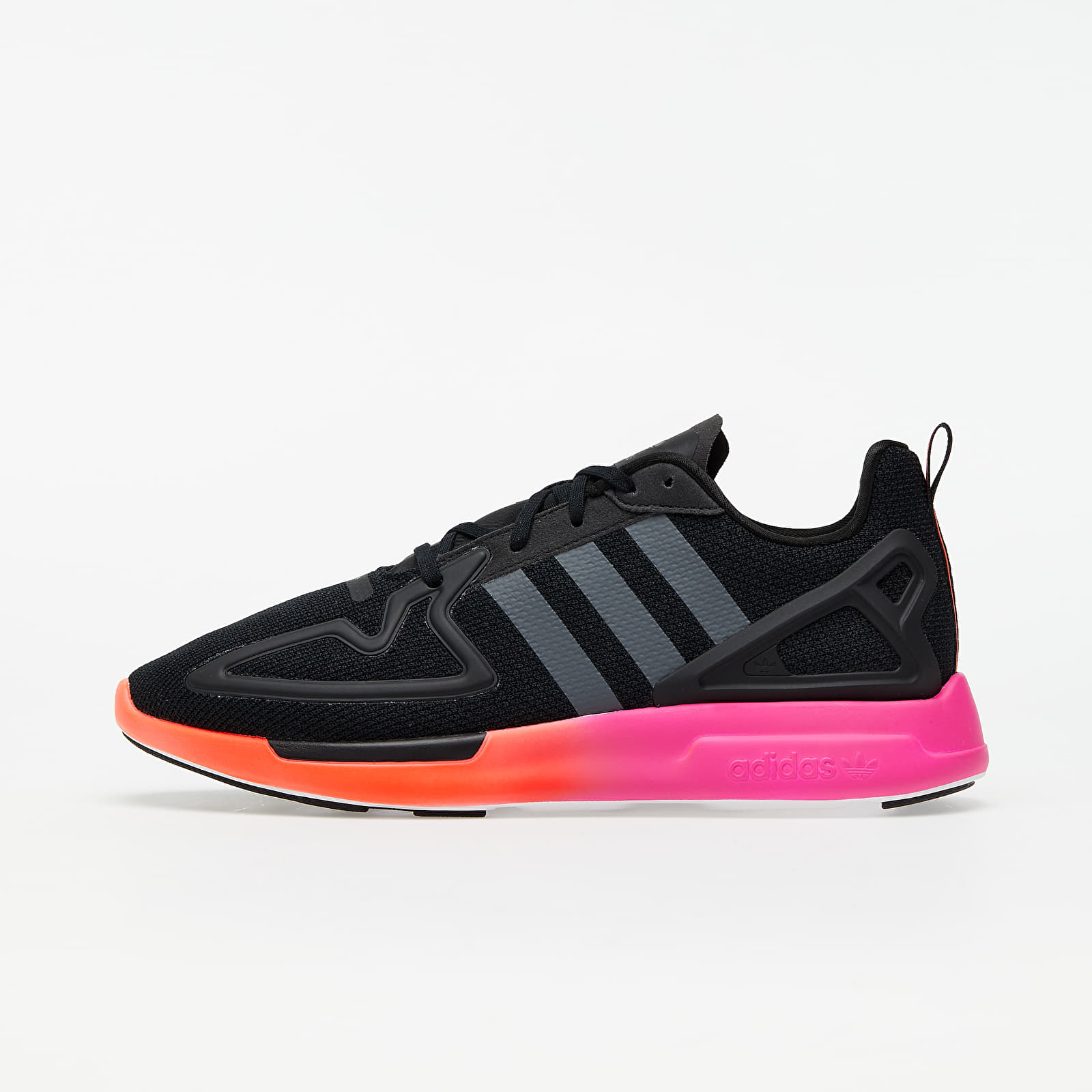 adidas ZX 2K Flux Core Black/ Grey Six/ Shock Pink EUR 42 2/3