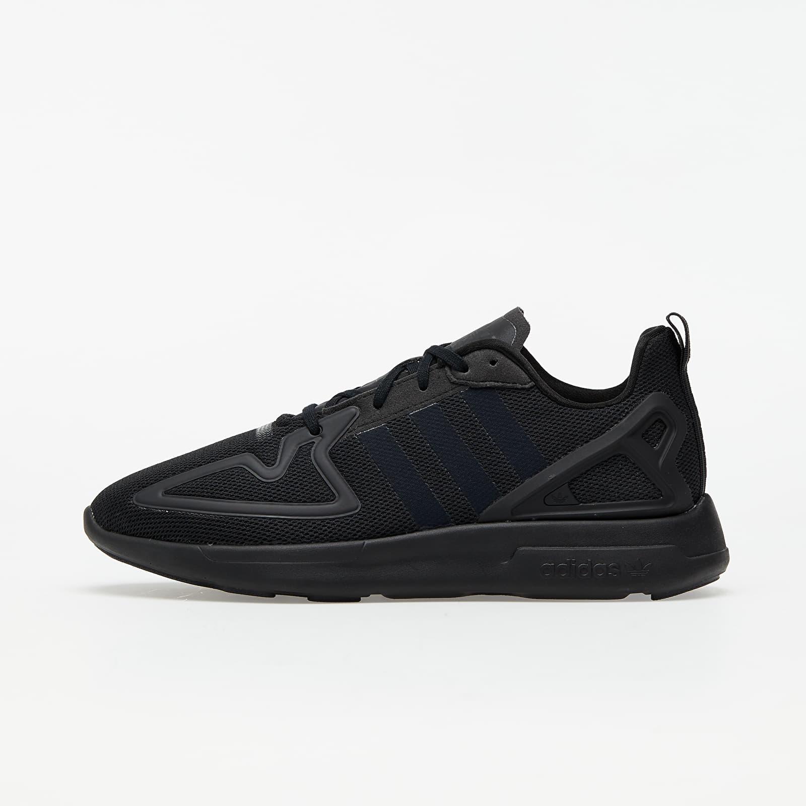Încălțăminte și sneakerși pentru bărbați adidas ZX 2K Flux Core Black/ Core Black/ Shock Pink