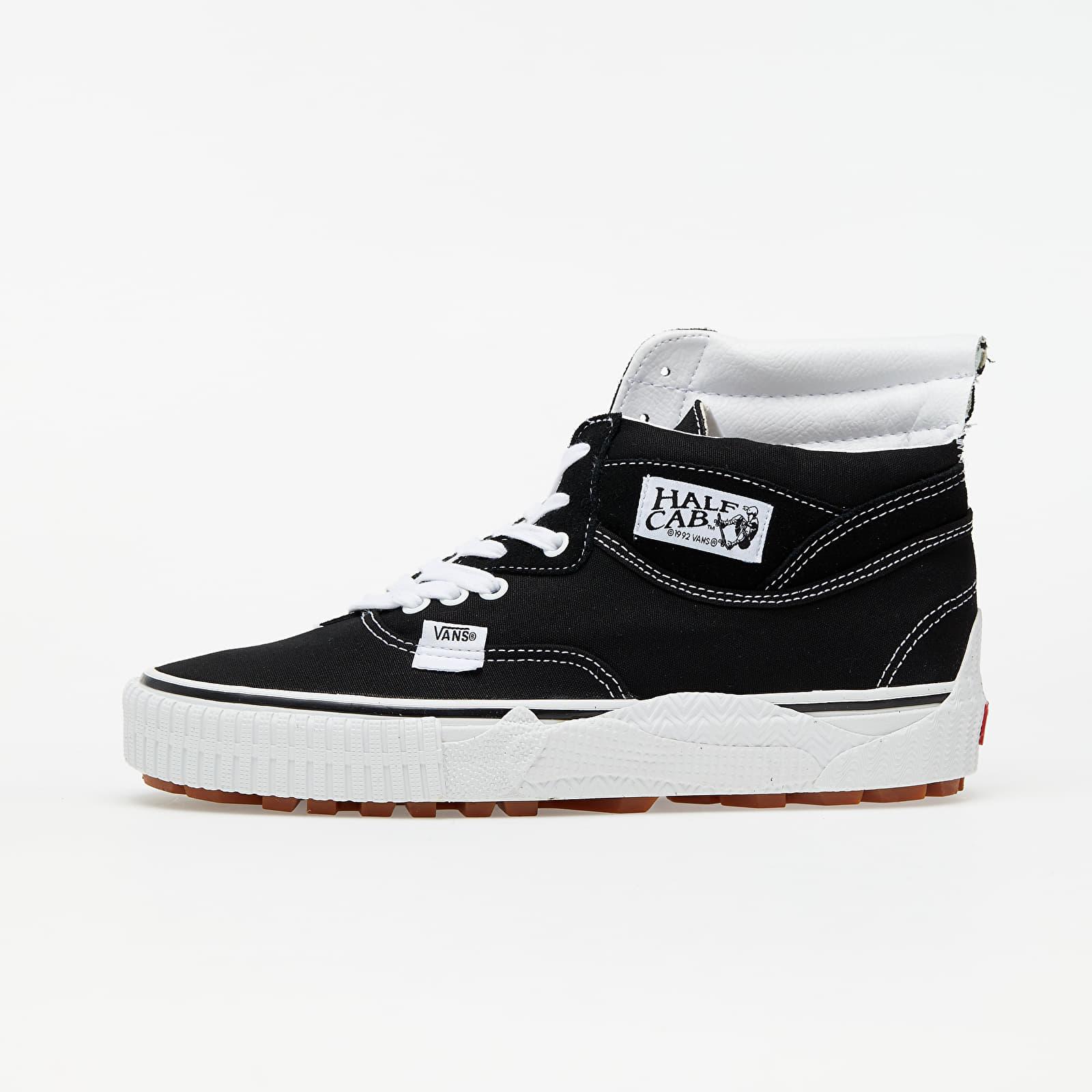 Vans Cap Mash Hi LX (Suede/ Canvas) Black/ White EUR 42