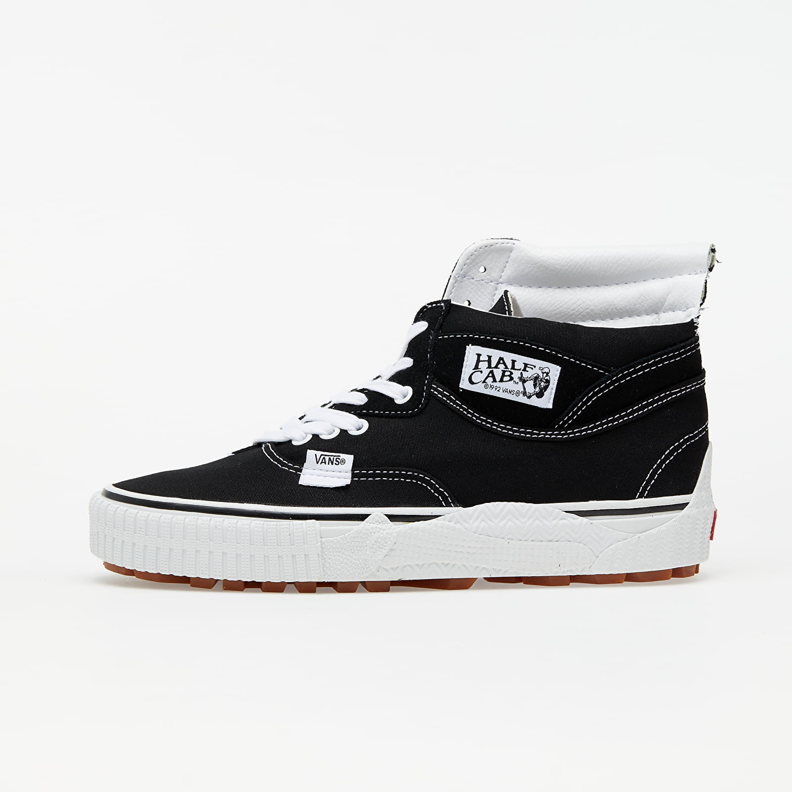 Мужская обувь Vans Cap Mash Hi LX (Suede/ Canvas) Black/ White