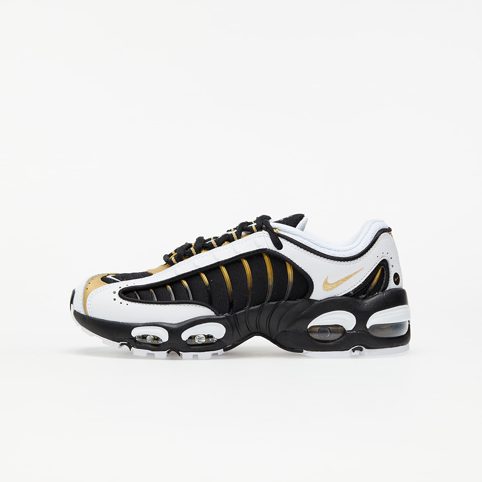 Zapatillas mujer Nike Air Max Tailwind IV GS Black/ Metallic Gold-White