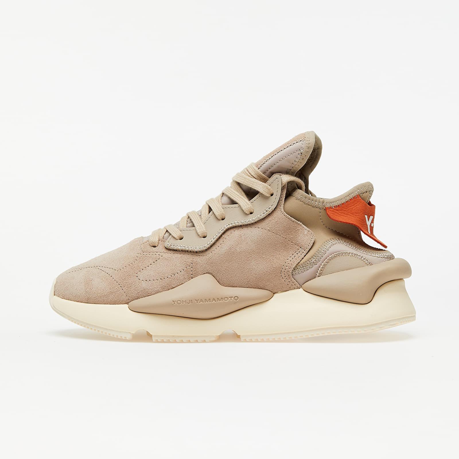 Men's shoes Y-3 Kaiwa Trace Khaki/ Trace Khaki/ Fox Orange