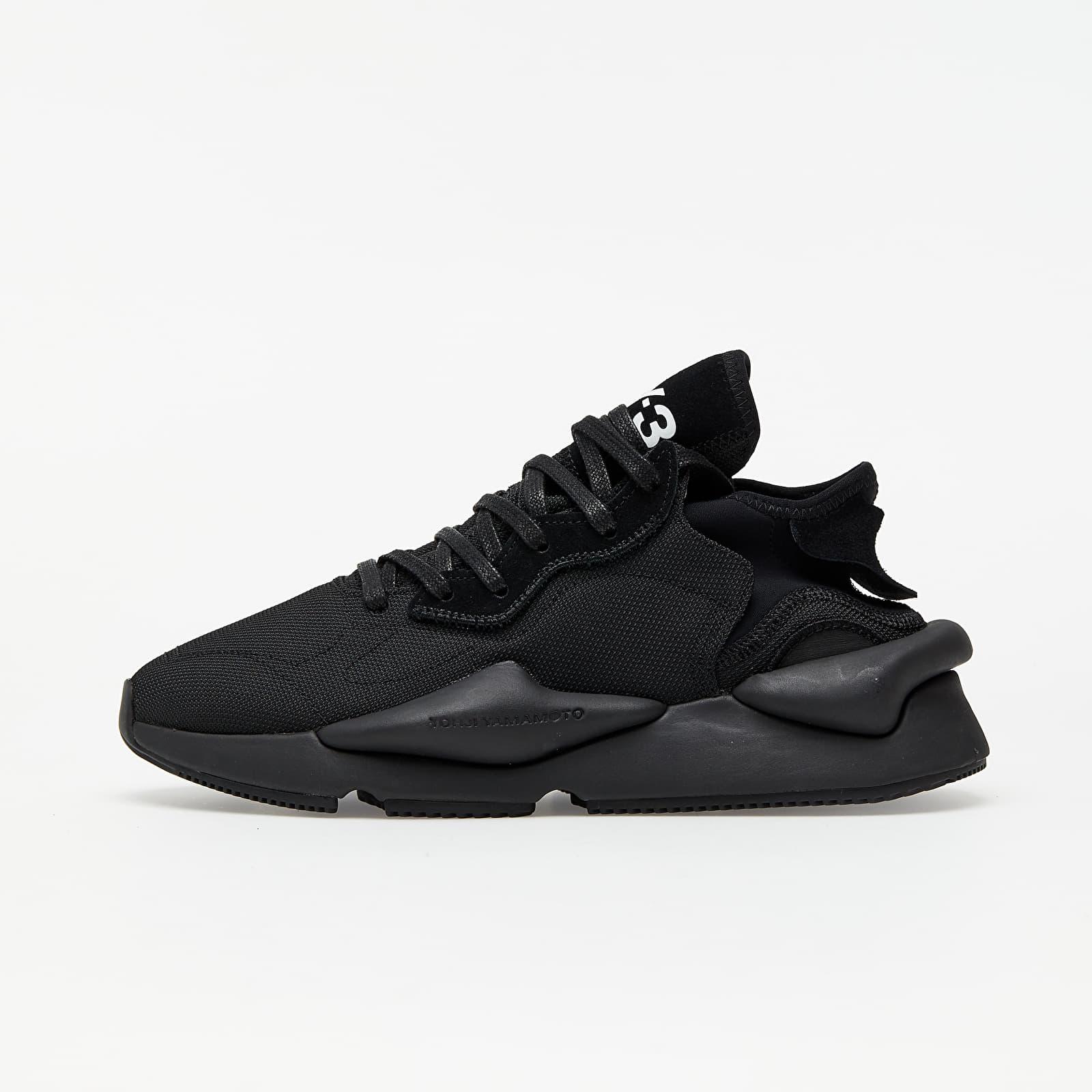 Men's shoes Y-3 Kaiwa Core Black/ Core Black/ Ftwr White
