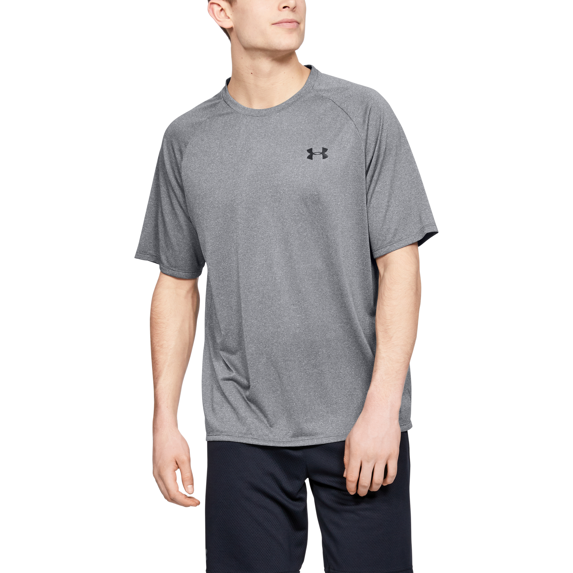 Under Armour Tech 2.0 SS Tee Novelty Pitch Gray/ Black EUR S